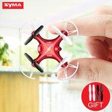Syma aviones rc helicóptero 4ch 2.4 ghz 6-axis gyro mini drone quadcopter dron de bolsillo de regalo para los niños de la fábrica outlet