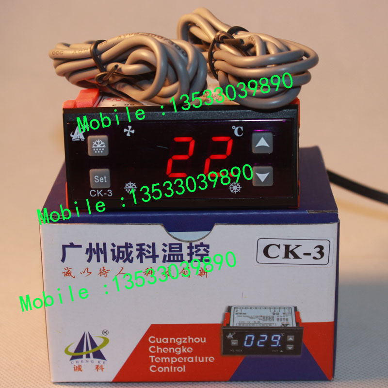 Chengke CK 3 Cold Storage Freezer Microcomputer Electronic Temperature Controller Defrosting Fan Delay Temperature Controller