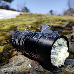 Image 4 - Sofirn BLF SP36 4*XPL2 6000LM Powerful LED Flashlight USB Rechargeable 18650 Multiple Operation Super Bright Torch Narsilm V1.2