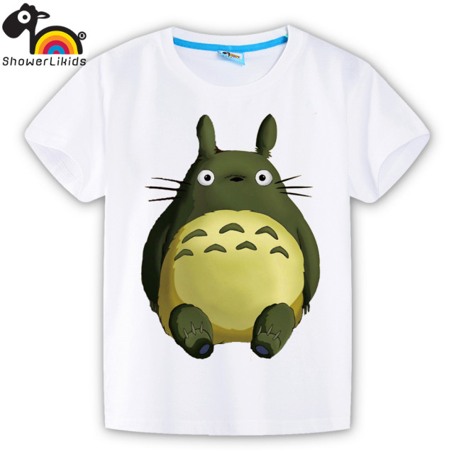 Totoro Kids Summer T-Shirt