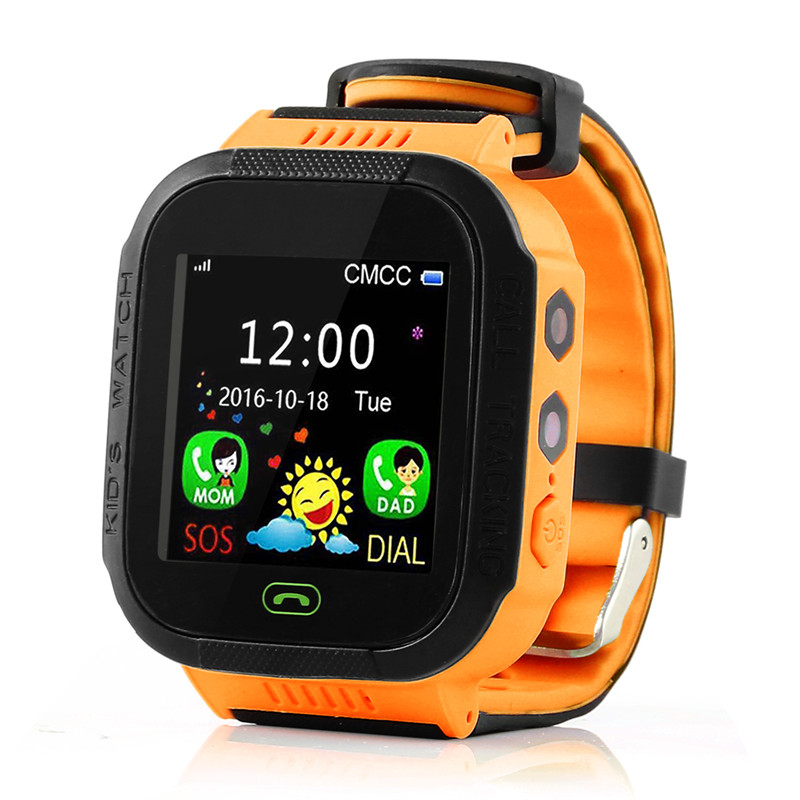 Y21S with Protective film Kid GPS Smart Watch Locator LBS SOS Call Flashlight Baby Watch SOS Call Location Device Tracker Safe