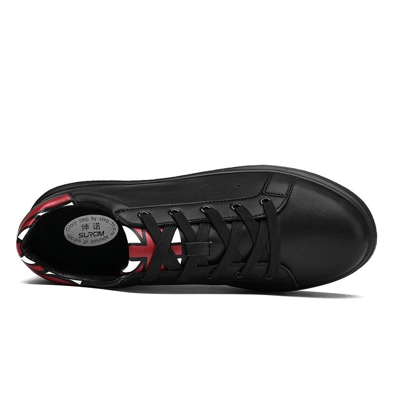 SUROM Heren Schoenen Volwassenen Veterschoenen Mode Sneakers - Herenschoenen - Foto 3