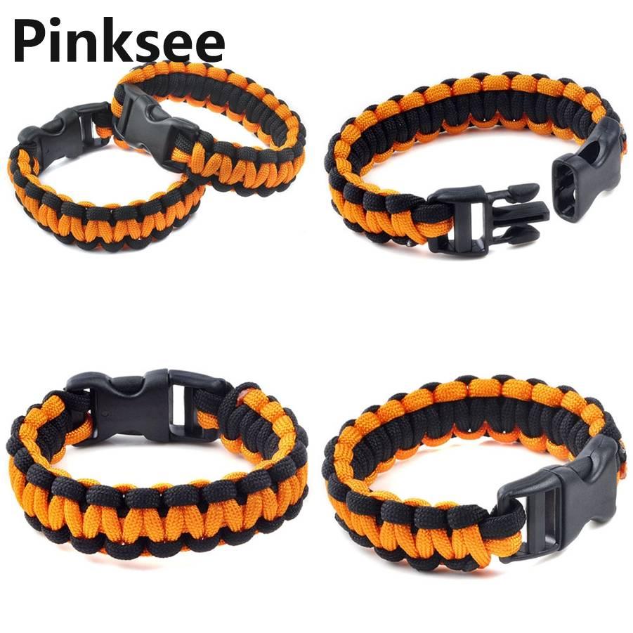 1 PC Retail Cobra PARACORD BRACELETS KIT Bracelet de Survie d'Urgence - Bijoux fantaisie - Photo 6