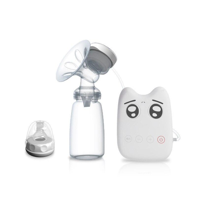 USB Electric Breast Pump Nipple Bottle Electric Powerful Nipple Suction BPA Free Breast Pumps Cold Heat Pad Nipple
