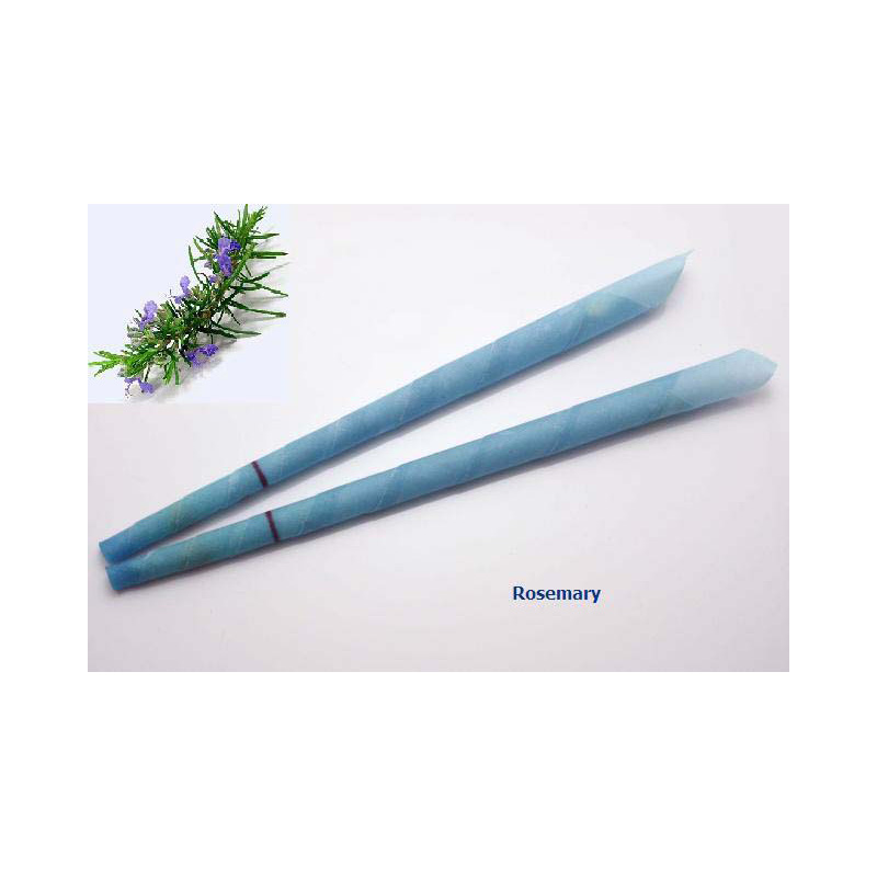 408pcs=204 pairs,Rosemary beewax indian ear waxing candle without burning smoke with protective disc with CE