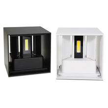 Modern Brief Cube Adjustable Surface Mounted 6W LED Wall Lamp Outdoor Waterproof IP65 Aluminum Sconce Free shipping