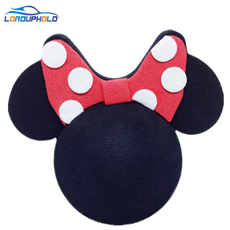 LordUPHOLD Brand Mickey Antenna Ball For Cars Hiasan Udara Cute Funny Cartoon Foam Ball Car Lovely Exterior FPV Topper New