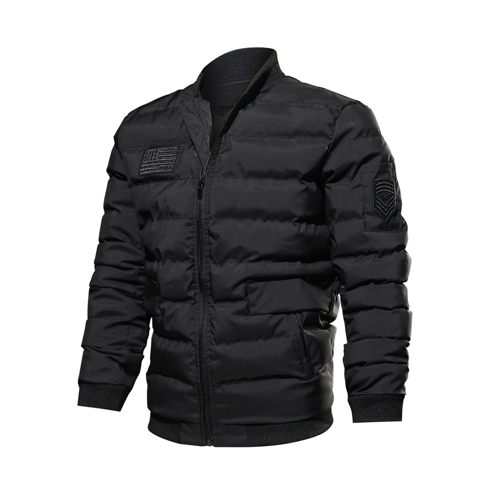 Plus Size   parkas   Jacket Long Sleeve Slim Shirt Casual Cothes Black   parka   Gothic 2018