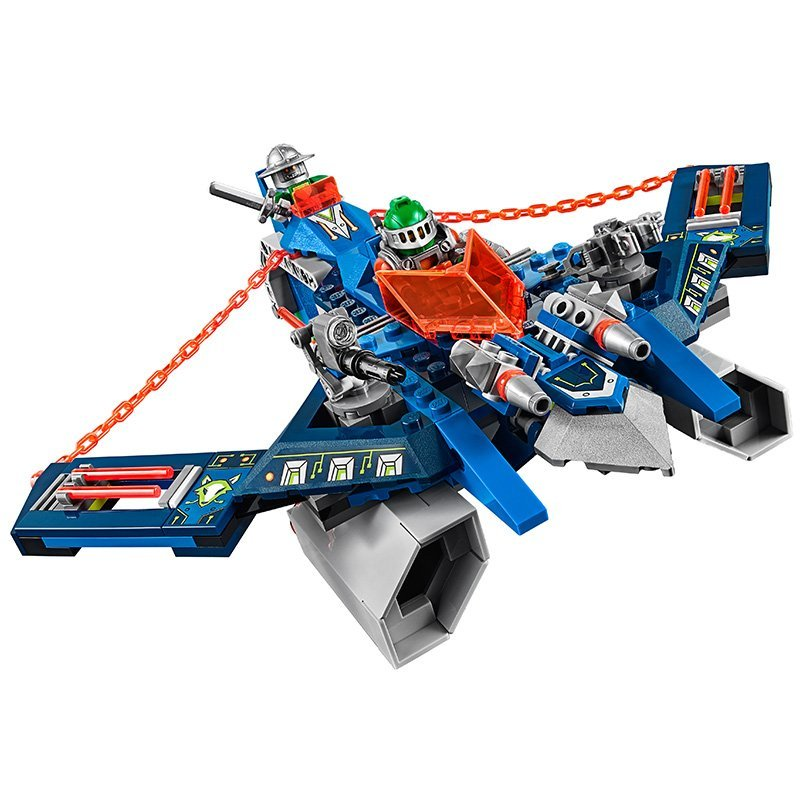 LEPIN Nexo Knights Axl Aaron Foxs Aero Flieger V2 Combination Marvel Building Blocks Kits Toy  Compatible Legoe Nexus