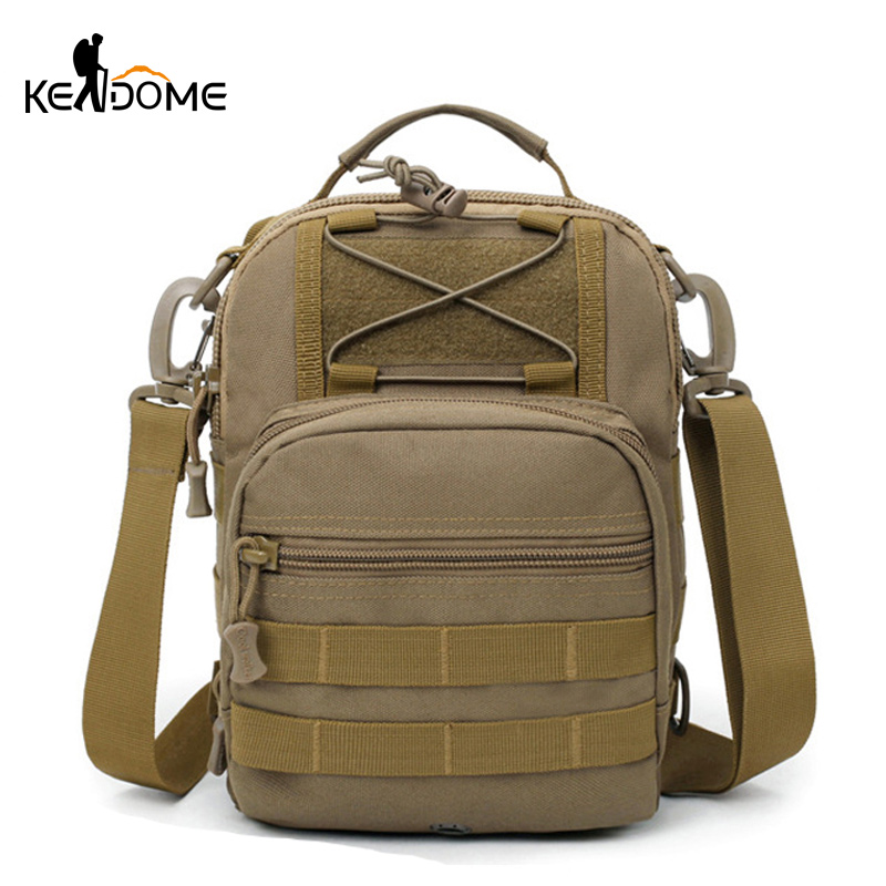 2019 New Molle Military Crossbody Bags Tactical Shoulder Bag Sport Waterproof  Army Handbags Camping Outdoor Chest Bag XA463WD