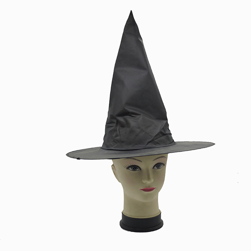 20 Pcs/lot Harri Potter Steeple Magic Hat toy Halloween Black Witch Hat Oxford Costume Party Props wholesale gifts