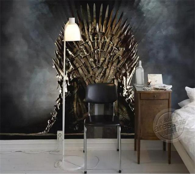 Of Thrones Wallpaper Iron Throne Wall Murals Custom Photo Kids Room Art Livingroom Decor Bedroom Home