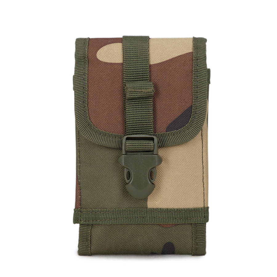 Outdoor Mobile Phone Waist Bag 5.0 - 6.0 Inch For Iphone For Xiaomi For Huawei Army Camo Hook Loop Belt Pouch Holster Cover Case