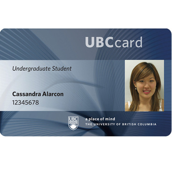 Personalized Student id Card and business card, TK4100 EM4100 ID card printing