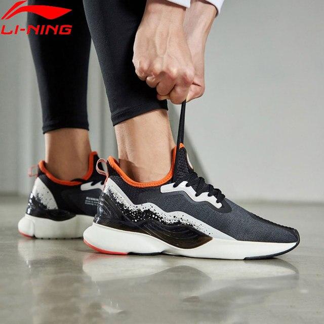 Мужские кроссовки для бега Li Ning с подкладкой из ТПУ, Нескользящие кроссовки с подкладкой li ning CLOUD LITE, ARHP057 XYP871