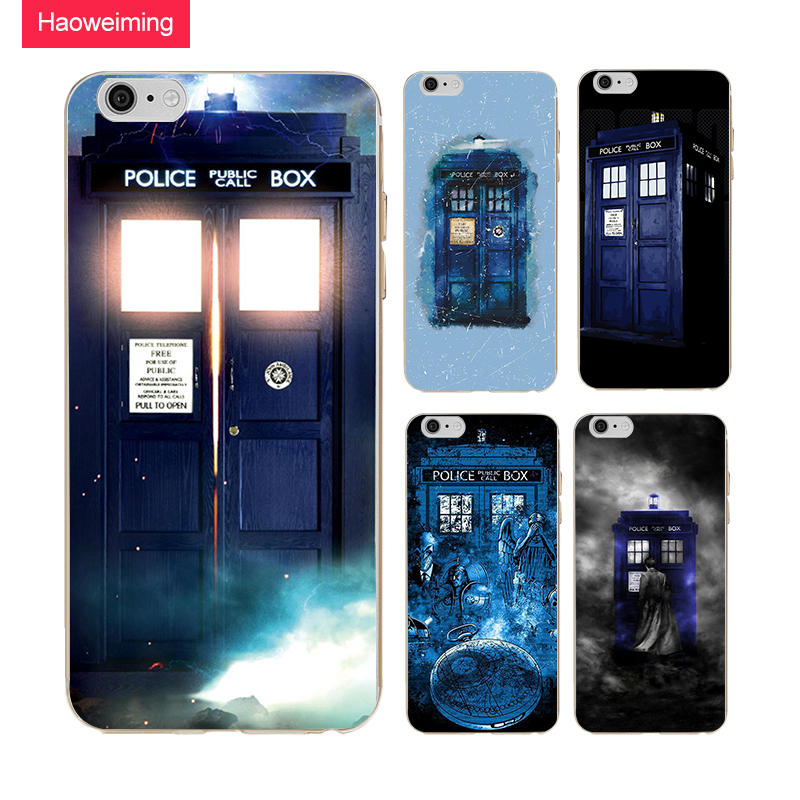 Tardis Doctor Who Box Silicone Soft TPU Case For Huawei P8 P9 P10 P20 Plus Y5 Y7 Y9 Honor 6A 9 10 Nova 2 Mate 9 10 Lite H364