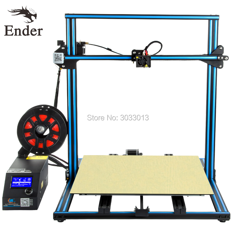 2018 Easy Build CR-10 5S 3D Printer Large print Size 500*500*500mm with Filaments+Hotbed+8G SD card+Tools as a gift Creality 3D creality 3d cr 10 series large 3d printer large printing size 500 500 500mm diy kit 3d printing machine with aluminum hotbed