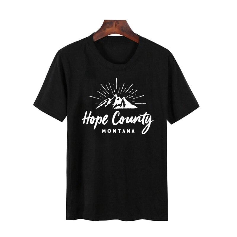 Far Cry 5 t-shirt da uomo divertente Cult Croce Gamers t shirt geek casual estate cotone manica corta FarCry 5 camisetas tshirt hombre