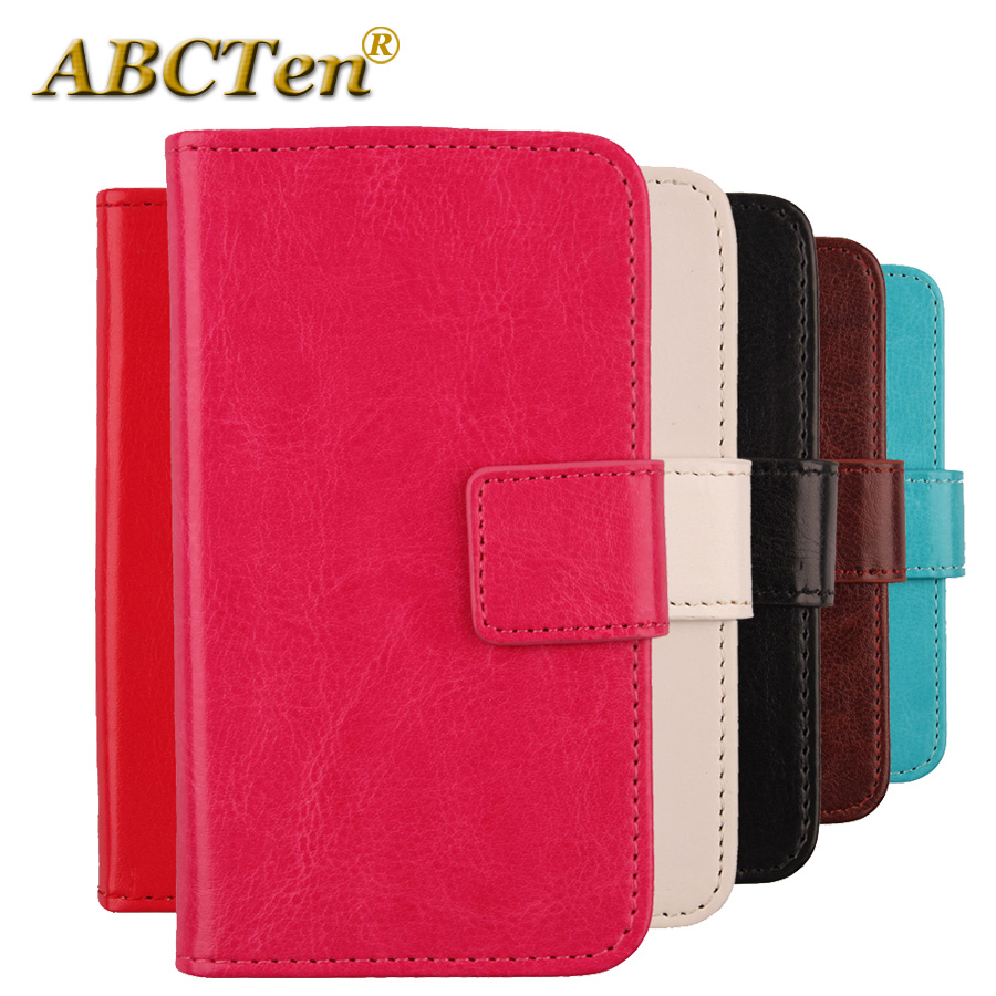 Case For LG Optimus L4 II E440 E445 Flip Leather Cover Skin Wallet Pouch Case For LG E445 E440