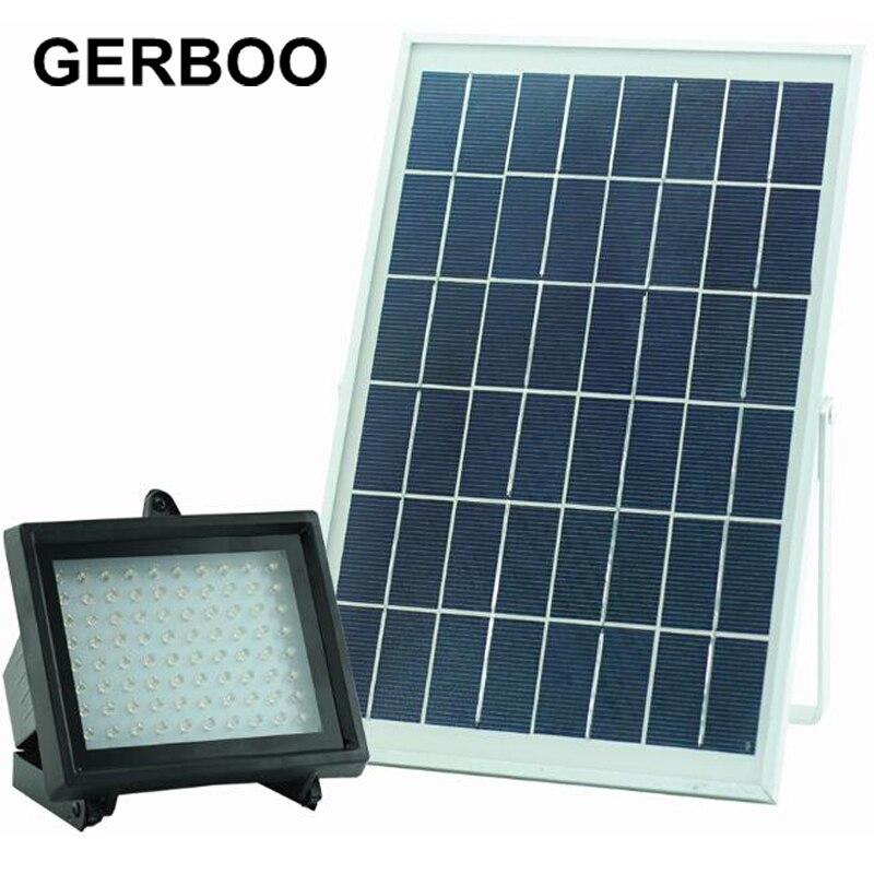 LED Solar Garden Sensor Light Outdoor Solar Led Wall Lamp Waterproof Spotlights Patio Pathway Emergency Lighting