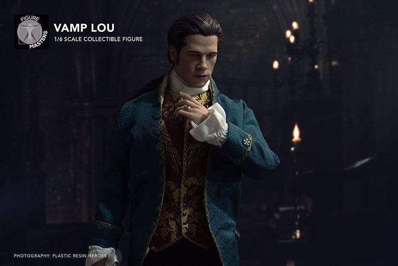 The Vampire Chronicles 1/6 Louis de Pointe du Lac Brad Pitt action figure doll whole set Collectible Action Figure Doll 1