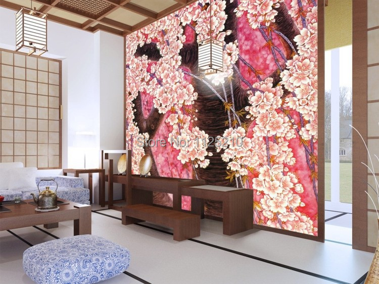 Buy free shipping the mural wallpaper wall painting fine bru - Papier peint patchwork ...