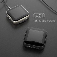 New RUIZU X21 Original MP3 Player Metal Mini Clip Sports Audio MP3 High Sound Lossless Music Player with FM Radio Voice Recorder