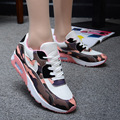 woman 2016 casual shoes autumn camouflage platform shoes KJ412