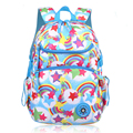 Fashion Candy Color Printing Backpacks For Girls Women Breathable School Bags Kids Backpack Teenagers Mochila Schoolbags Satchel