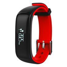 Гестия P1 Bluetooth SmartBand крови Давление монитор сердечного ритма браслет Водонепроницаемый IP67 Смарт Браслет переносной OLED