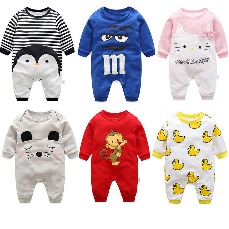 Autumn Baby Clothes Boys Girls Long Sleeves Infantil Jumpsuit Cotton Infant Romper Newborn Overall Kids Bebes Pajamas Clothes mother nest baby romper 100% cotton long sleeves baby gilrs pajamas cartoon printed newborn baby boys clothes infant jumpsuit