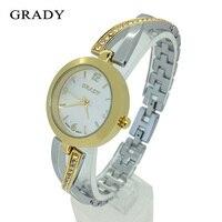GRADY Clock Ladies Belt Watches Quartz Top Brand Luxury Shockproof Waterproof Watches Women Fashion Gold Watch