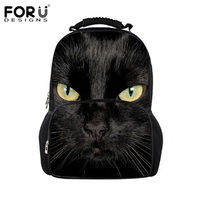 Noisy Designs Black Cat Backpack Women Harajuku Style Backpacks for Teenager Girls Cute School Bag Animals Printing Bags Mochila