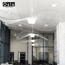 Suspension hanging modern vertigo lamp fiberglass/polyurethane pendant light dining living room bar cafe