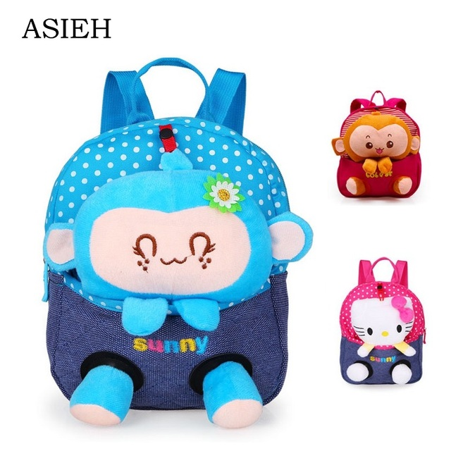Baby Backpack Cartoon School Bag Kid Schoolbag 1 Year Old To 5 fbad90de50