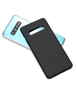 Image 2 - ENMOV Ultra דק 100% אמיתי סיבי פחמן מקרה לסמסונג גלקסי S10 S10Plus S9 S9 בתוספת עסקים מט יוקרה כיסוי עבור Note9