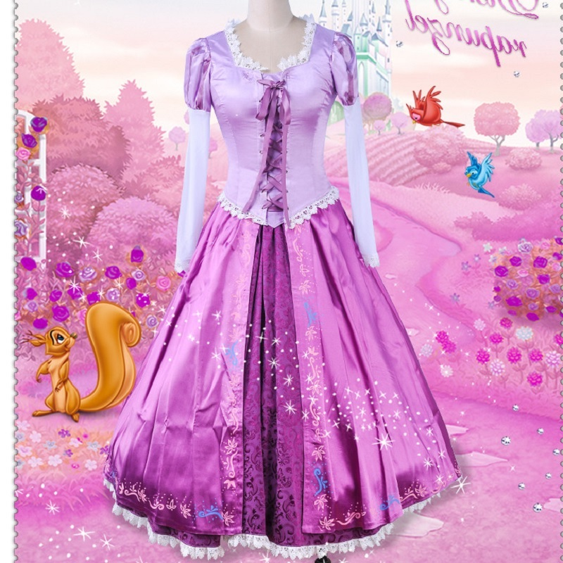Adult rapunzel costume