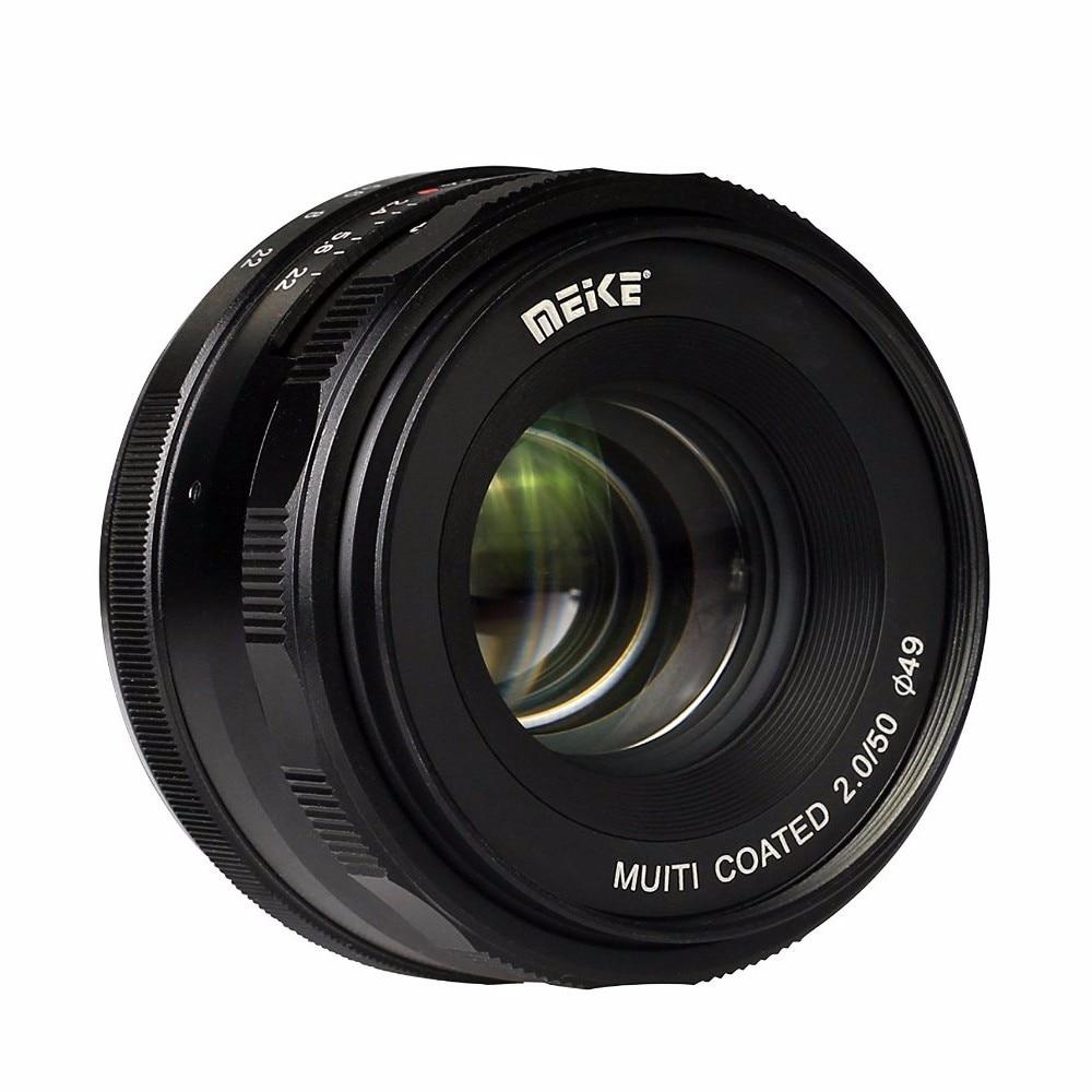 Meike MK-4/3-50-2.0 50mm f 2.0 Large Aperture Manual Focus lens APS-C For 4/3 System Mirrorless Cameras For Olympus/Panasonic мясорубка panasonic mk g1800pwtq