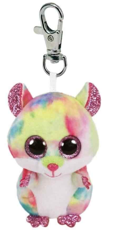 Detail Feedback Questions about Ty Beanie Babies Boos Rodney the Pink Hamster  Boo Key Clip Big Eyes Plush Stuffed Animal Collectible Toy Christmas Gift  For ... d106a0db0eb