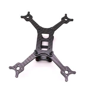 "Image 4 - Zahnseide 3 zoll Carbon Fiber ZAHN FEE 3 ""RENNEN Rahmen 140mm FPV Rahmen kit mit 3mm arm kompatibel 3 zoll propeller FPV Rennen drone"