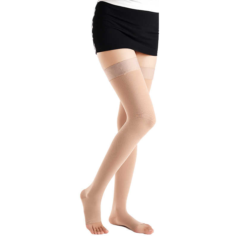 5adb5d9484 ... Level 2 A Pair Medical Socks Compression Stockings Varicose Veins  23-32mmHg Pressure Mid- ...