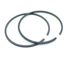 2 шт./лот, поршневые кольца для цилиндрической пилы HUSQVARNA 66 266 268 371 372 STIHL 038 044 MS440, 50 мм x 1,5 мм