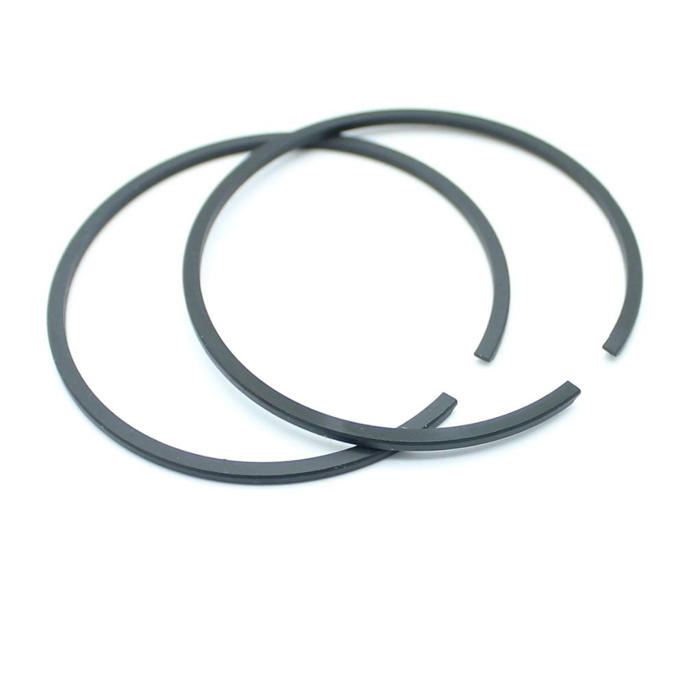 2Pcs/lot 50mm X 1.5mm Cylinder Piston Rings Fit HUSQVARNA 66 266 268 371 372 STIHL 038 044 MS440 Chainsaw Parts