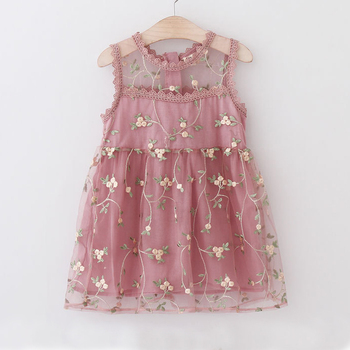 Flower Princess Dress For Girls 5