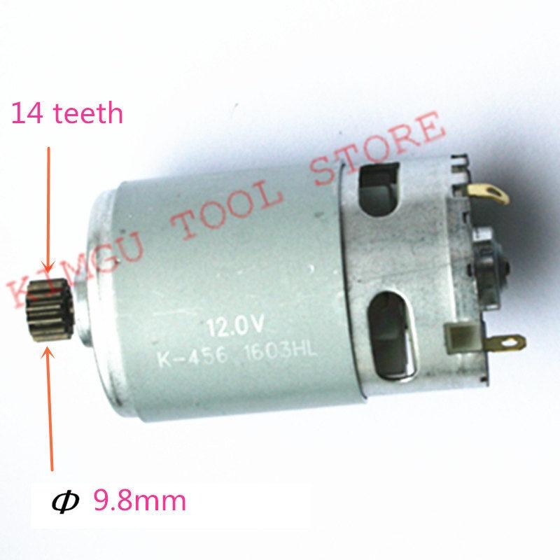 14 dientes DC 12 V Motor de reemplazo para MAKITA 629817-8 6270D 6270DWE 6271DWE 6271D 6270 DWPE MOTOR