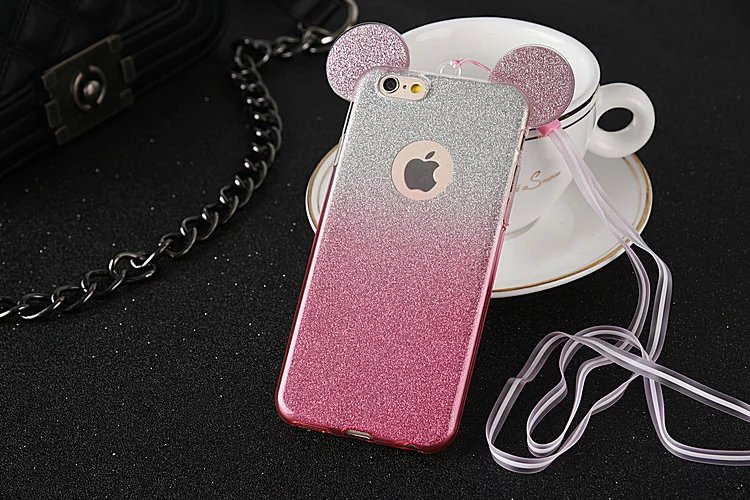 for iphone x glitter mickey minnie mouse ears gradient. Black Bedroom Furniture Sets. Home Design Ideas