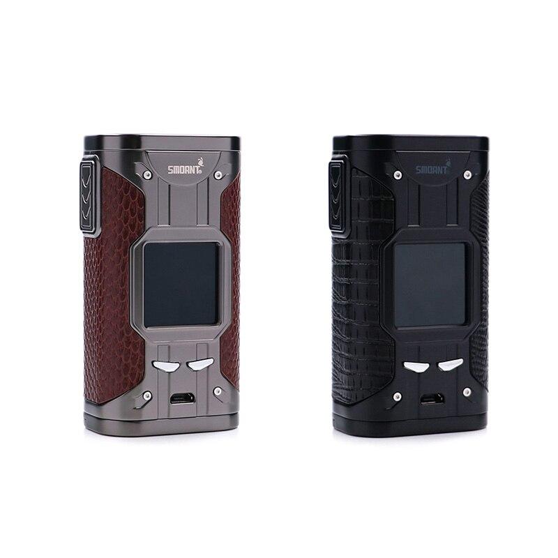 Cigarette électronique originale Mod fumeur cylon TC 218 w boîte Mod 218 E Cigarette mod avec vaporisateur d'écran de 1.3 pouces Vaper