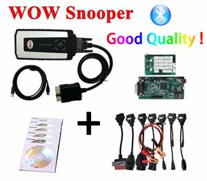 2019 WOW Snooper Bluetooth WOW Wurth New VCI vd ds150e cdp autocome WOW CDP Pro plus OBD2 Scanner for delphis Diagnostic Tool