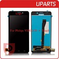 100% Tested Brand New For Philips V526 LCD Display + Touch Screen Assembly LCD Digitizer Glass Panel Replacement