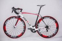 2018 Costelo Рио углерода дорожный велосипед Полный Дешевые дорожные велосипеды T1000 bicicleta carbono DIY полный велосипед углерода дорожный велосипед